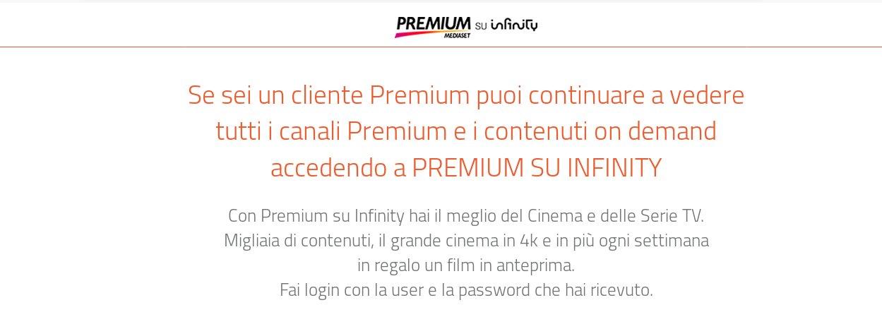 Come disdire abbonamento Mediaset Premium?